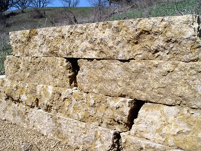 Illinois Hahn sawed retaining wall stone  *Special Order.  This stone must be ordered by the truckload.  Can be combined with any other IL/ Hahn stone.