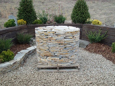 North Carolina BR heather gray  *Special order, must be sold by the truckload.  Truckload can be combined with any NC/ BR stone.