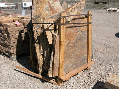 Utah QDS large fossil gray stone  *Special order.  This stone must be ordered by the truckload.  Can be combined with any other UT/ QDS stone