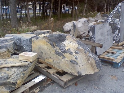 Virginia FQ Boulders  *Special order, must be sold by the truckload.  Truckload can be combined with any VA/ FQ stone.  This stone can also be picked up by TDH in Harrisonburg, VA.