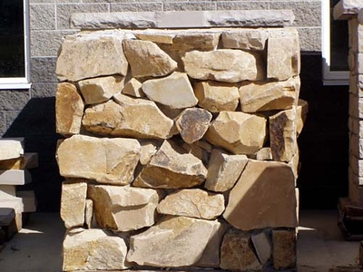 Utah MV rubble stone