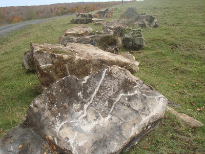 West Virginia Elk fieldstone boulders  *Easily accessible.  Can be added to a truck or picked up by TDH.
