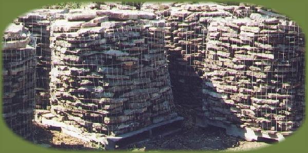 Arkansas/ Oklahoma mossy fieldstone