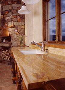 New Mexico Travertine Stone Countertops