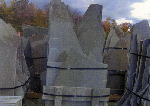 Pennsylvania SS thermal standup bluestone  *Fairly accessible, this particular stone is not held in stock at TDH but can be ordered and added to a truck or picked up by TDH.