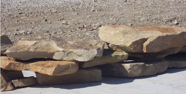 Ohio B cleveland ledge rock  *Special Order.  This stone must be ordered by the truckload.  Can be combined with any other OH/ B stone.