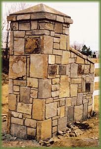 Arkansas/ Oklahoma cherokee peach flagstone