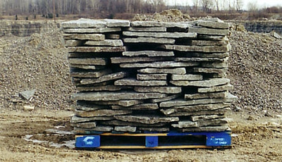 Ohio SC gray gorge steppers  *Special Order.  This stone must be ordered by the truckload.  Can be combined with any stone from OH/ SC