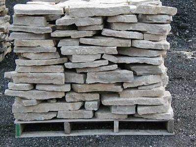 Ohio SC canyon tan small flagstone  *Special Order.  This stone must be ordered by the truckload.  Can be combined with any stone from OH/ SC