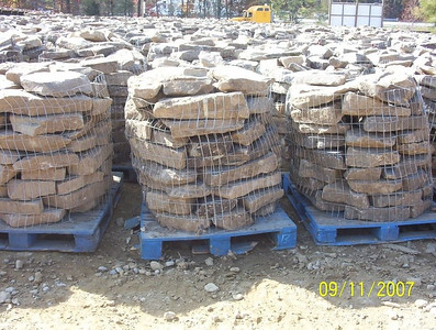 Tennessee SQM fieldstone  *Special order, must be sold by the truckload.  Truckload can be combined with any NC/ SQM stone.
