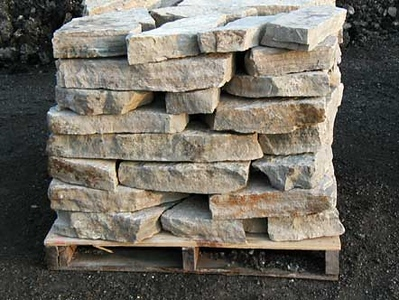 """Ohio SC canyon tan 3"""" wallstone  *Special Order.  This stone must be ordered by the truckload.  Can be combined with any stone from OH/ SC"""