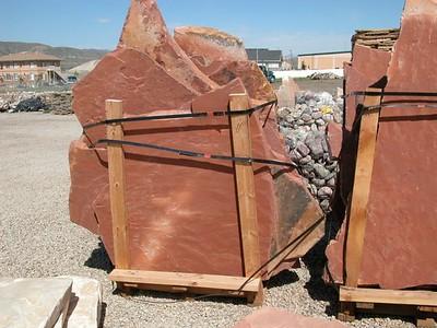 Utah QDS large red flagstone