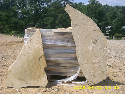 Tennessee SQM large flagstone  *Special order, must be sold by the truckload.  Truckload can be combined with any NC/ SQM stone.