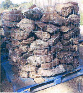 Tennessee SQM small fieldstone boulders  *Special order, must be sold by the truckload.  Truckload can be combined with any NC/ SQM stone.