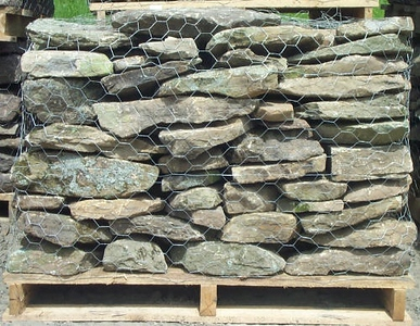 New York JR regular fieldstone  *Easily accessible.  This stone is typically carried in stock.