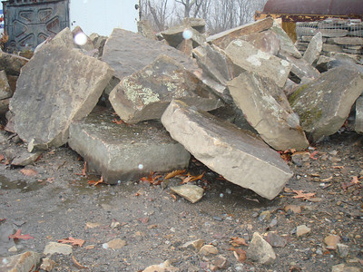 West Virginia Elk fieldstone steppers  *Easily accessible.  Can be added to a truck or picked up by TDH.