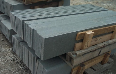 New York JR thermal bluestone treads  *Easily accesible.  This particular stone is not held in stock at TDH but can be ordered and added to a truck or picked up by TDH.