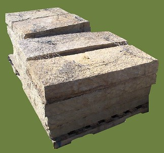 Arkansas/ Oklahoma natural stone steps  *Special Order.  This stone must be ordered by the truckload.  Can be combined with any stone from AR/OK stone