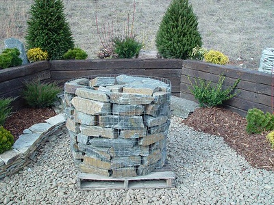 North Carolina BR pisgah gray  *Special order, must be sold by the truckload.  Truckload can be combined with any NC/ BR stone.