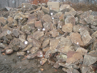 West Virginia large elk fieldstone  *Easily accessible.  Can be added to a truck or picked up by TDH.