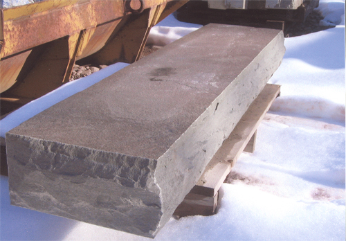 Pennsylvania SS rockface bluestone steppers  *Fairly accessible.  This particular stone is not held in stock at TDH but can be ordered and added to a truck or picked up by TDH.