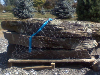 Pennsylvania PM fieldstone steppers  *Easily accessible.  This stone is typically carried in stock.