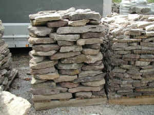 "Tennessee/ Virg 3"" mountain stone  *Special order.  This stone must be ordered by the truckload.  Can be combined with any other TN/ Virg stone"