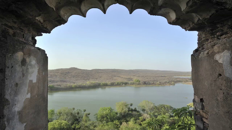 Lakes from Fort Bhurj framing-desktop