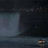 Tourist boat in Niagara Falls