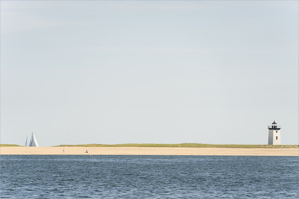 Tongue of sand at the end of the Cape Cod peninsula  (Massachusetts)