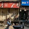 Agra - a downtown street