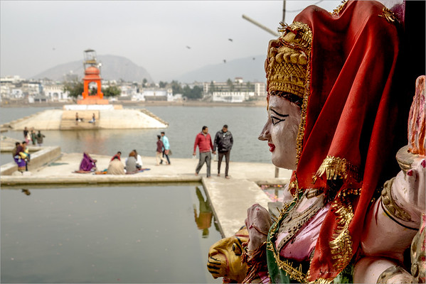 Pushkar - sacred lake