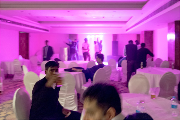 private party for employees of a hotel