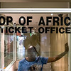 """Johannesburg - Biglietteria del grattacielo """"Top of Africa"""""""