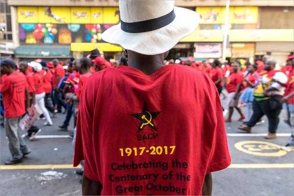 Durban - manifestazione del 1 Maggio