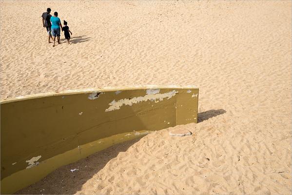 Spiaggia nei pressi di Durban