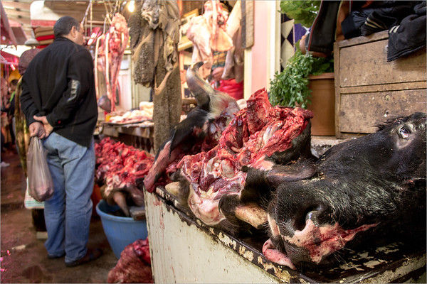 butcher shop in Meknes