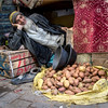 seller of potatoes in Fez