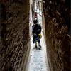 an alley in Fez