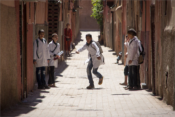students In Marrakech