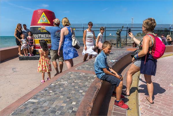 "Key West - foto ricordo al ""Southernmost Point Continental USA"""