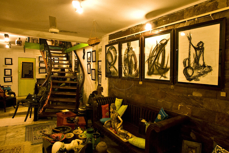 An art gallery in Mumbai