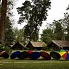 Eco camp at Nameri tiger reserve in Assam