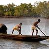 Fishermen in rural Bengal (Sundarbans)
