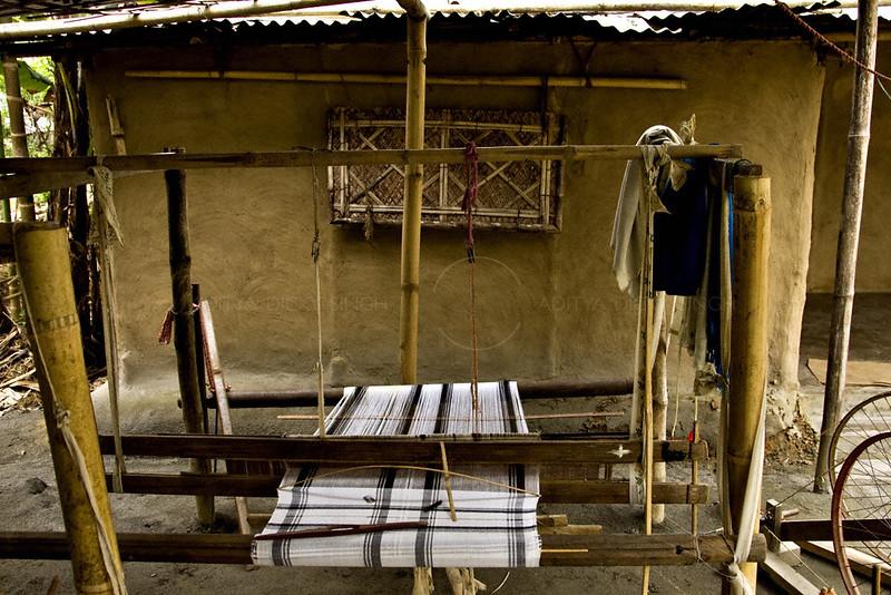 A handloom in Assam