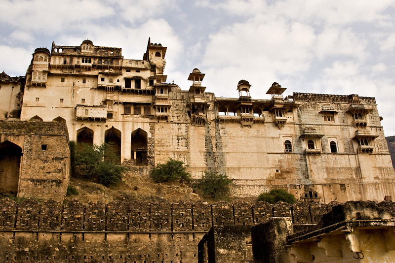 Bundi fort from Old Bundi town