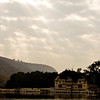 Lake and Palace in Bundi in Rajasthan