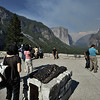 Visitors in the Yosemite national park, California in the summers