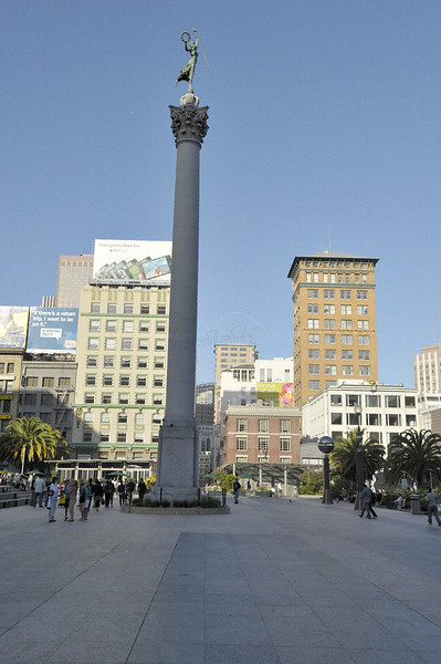 Stone pillar in San Francisco
