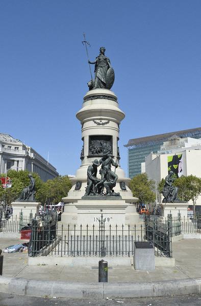 Pioneer monument in San Francisco